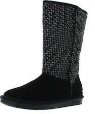 Skechers Women's Shelby's-Copenhagen Snow Boot,Black,6