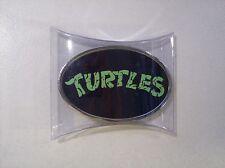 New Tmnt Teenage Mutant Ninja Turtles Oval Novelty Belt Buckle