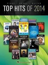 """VERY GOOD"" Various, Top Hits Of 2014 (Top Hits of Piano Vocal Guitar), Book"
