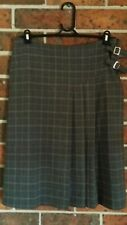 WITCHERY Size 10 CHECK PLAID SKIRT