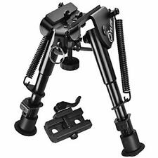 """Non Rust Steel Rifle Bipod w/ Quick Release Adapter For Hunting & Shooting 9"""""""