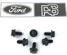 Ford RS Motorsport 3 4 spoke steering wheel bolts x 6 for hub boss kit. OEM  H6