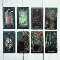 Deck 78 Tarot Cards English DIY Silver Plating Prisma Visions tarot Board Game