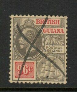 British Guiana Scott #188 Used, Manuscript cancel