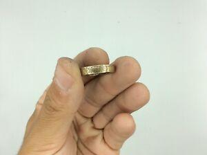 Fantastic Antique Vintage 9ct Rolled Gold Band Ring Size V