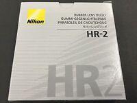 Nikon Lens Hood HR-2 AF Nikkon 50F 1.4D from JAPAN