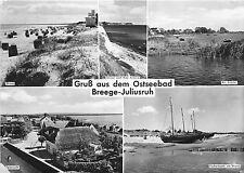 BG132 gruss aus dem ostseebad breege juliusruh ship batea  CPSM 14x9.5cm germany