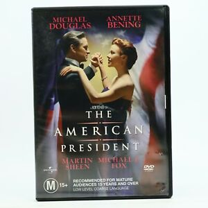 The American President DVD Michael Douglas Good Condition Free Tracked Post