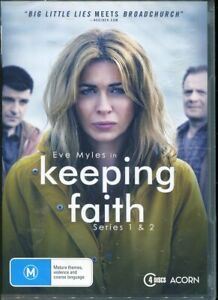 Keeping Faith: Series 1 - 2 One and Two DVD NEW Region 4