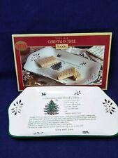 Spode Pierced Recipe Ceramic Christmas Cookie Tray