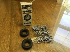 Tamiya Vintage  Wheel and Tire Set Rough Rider Tyre Set Front 119 5119