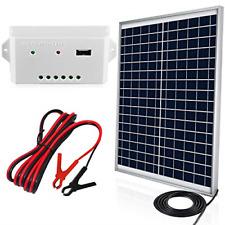 ECO-WORTHY 20W 12V Solar Panel Kit: 20 Watt Polycrystalline Solar Panel &...