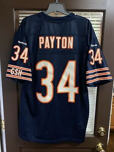 2011 Chicago Bears Walter Payton #34 NFL Jersey Vintage Reebok Collection