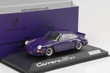 1973 Porsche 911 Carrera RS 2.7 Lila  schwarze Schrift 1:43 Minichamps WAP