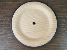 Holzrad mit Gummireifen 73mm