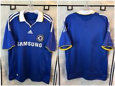 Chelsea 2008/09 Home Soccer Jersey Medium Adidas Epl
