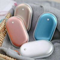 Electric Pocket Hand Warmer Heater Charger Rechargeable 5200mAh Power Bank
