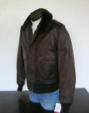 SCHOTT NYC A-2, Naked Cowhide Leather Flight Jacket, 184SM, 38 MIS-9