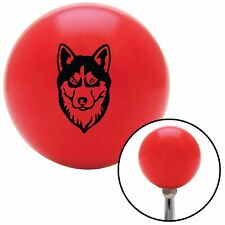 Husky Red Shift Knob with M16 x 1.5 Insert flathead scta modified amp strip