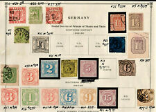 German States stamps--34 of them
