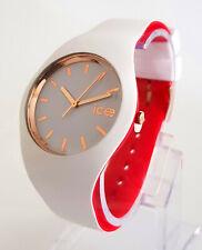Ice-Watch ICE 007240 loulou weiß rosègold M Ø 40 mm Damenuhr Uhr neu Silikon 127