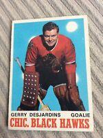 1970-71 O-Pee-Chee #152 Gerry Desjardins EX-NM Ref167