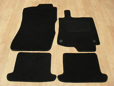 Renault Megane CC (2010-on) Fully Tailored Car Mats in Black