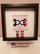 Mickey & Minnie Mouse 3d Frame minifigure present infinity
