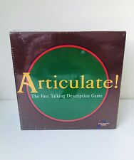 Articulate Board Game. SEALED 100% Complete. Drummond Park 1993. Good Condition.