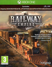 Railway Empire + Soundtrack & Poster Xbox One * NEW SEALED PAL *