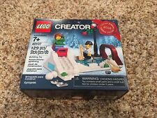 LEGO Creator Sled Hill (40107) New in Never Opened Box - Christmas