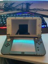 Nintendo 3DS XL grey with homebrew