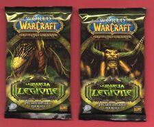 WOW WORLD of WARCRAFT - LA MARCIA DELLA LEGIONE - ITA 1 BOOSTER PACK