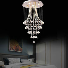 Modern Chandelier Ceiling Pendant Light Elegant Crystal Lamp Fixture Lighting US