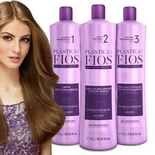 CADIVEU BRAZILIAN KERATIN PLASTICA DOS FIOS KIT TREATMENT BLOWOUT STRAIGHTENING