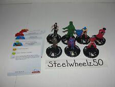 Heroclix DC 75th Anniversary 7 Figure Lot Deadshot Donna Troy Beast Boy Atom HTF