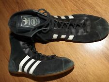 Vintage 70s Adidas Champion UK 5 1/2 Made In West Germany wrestling boxing shoes