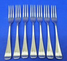 7 - Lenox WILLIAMSBURG ROYAL SCROLL Glossy 18/8 Stainless Flatware SALAD FORKS
