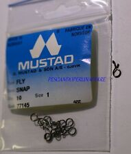 MUSTAD QUAL.77145 FLY SNAP Qty. 10