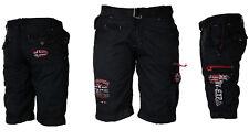 Geographical Norway Hombre Cargo Pantalones Cortos Bermudas hasta Rodilla Parodi