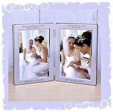 Sister Bridesmaid Personalised gift photo frame