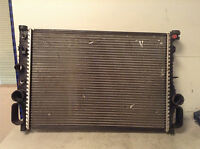 Mercedes Engine Radiator automatic transmission at C class w203 270 cdi