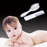 ABS Newborn Baby Child Hair Brush Soft Infant Comb Head Scalp Massager Tool Set