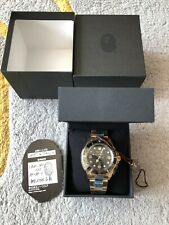 A Bathing Ape Type 2 Bapex Automatic In Yellow Gold Brand New Condition