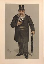Original Vanity Fair Print 1900 'Oom Paul' - Royalty/ Heads Of State
