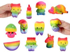 Regenbogen Squishies Soft Spielzeug Kinder & Erwachsene