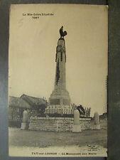 cpa 43 fay sur lignon le monument aux morts