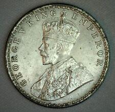 1914 B India British One Rupee 1 Rupee Uncirculated Silver