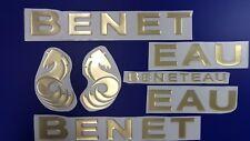 MOORING CLEAT 9 inch ALLOY WITH BLACK NYLON BASE PLASTIMO Beneteau Jenneau