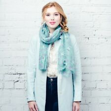 F & J Collection - Hazel  & Pip Katie Scarf - Turquoise